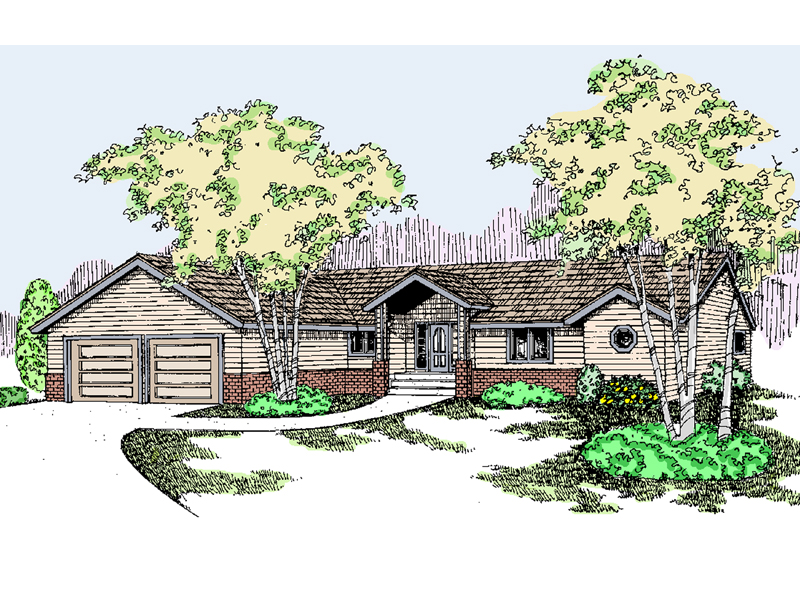 Quaint Ranch Home Has Inviting Entry