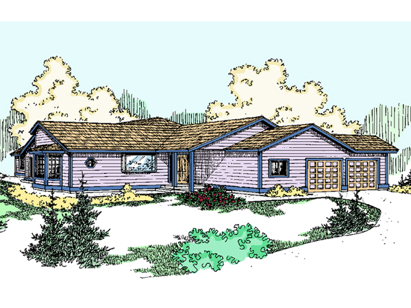 Lasalle place ranch home plan 085d 0758 house plans and more - Full verandah house plans the functional extra space ...