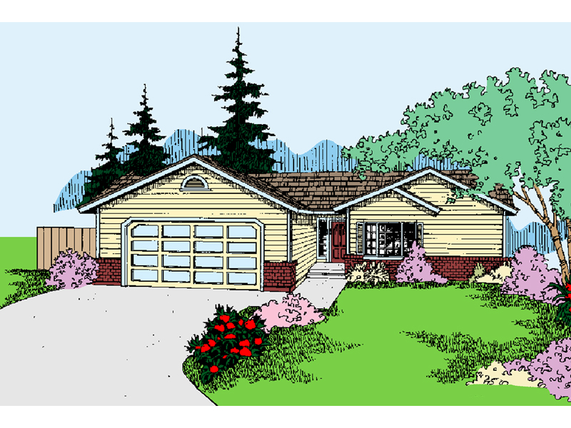 Country House Plan Front of Home - 085D-0798 | House Plans and More