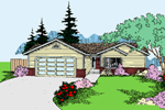 Traditional House Plan Front of Home - 085D-0798 | House Plans and More