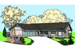 Country House Plan Front of Home - 085D-0809 | House Plans and More