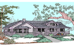 Country House Plan Front of Home - 085D-0824 | House Plans and More