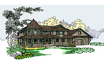 Traditional House Plan Front of Home - 085D-0826 | House Plans and More