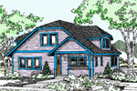 Traditional House Plan Front of Home - 085D-0828 | House Plans and More