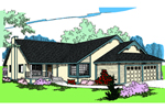 Country House Plan Front of Home - 085D-0834 | House Plans and More