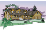 Lowcountry Home Plan Front of Home - 085D-0838 | House Plans and More