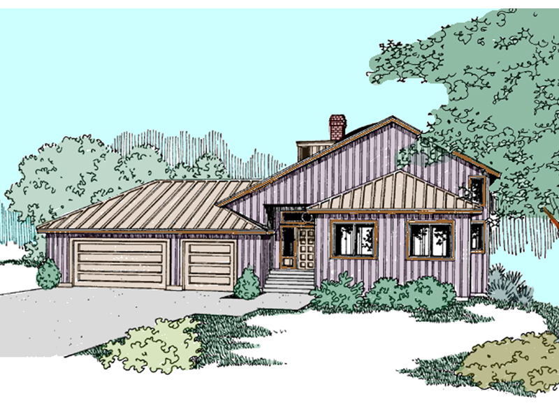 Traditional House Plan Front of Home - 085D-0840 | House Plans and More