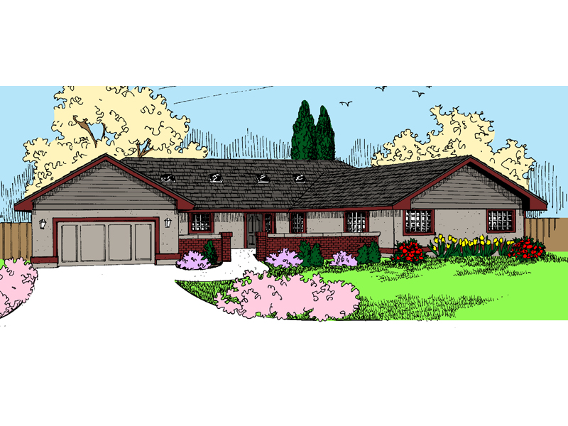 Traditional House Plan Front of Home - 085D-0844 | House Plans and More