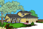 Country House Plan Front of Home - 085D-0852 | House Plans and More
