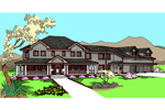 Traditional House Plan Front of Home - 085D-0856 | House Plans and More