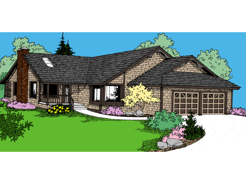 Country House Plan Front of Home - 085D-0861 | House Plans and More