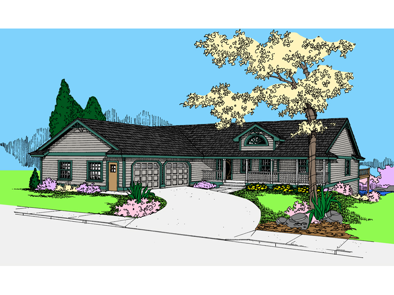 Country House Plan Front of Home - 085D-0863 | House Plans and More