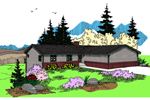 Ranch House Plan Front of Home - 085D-0864 | House Plans and More