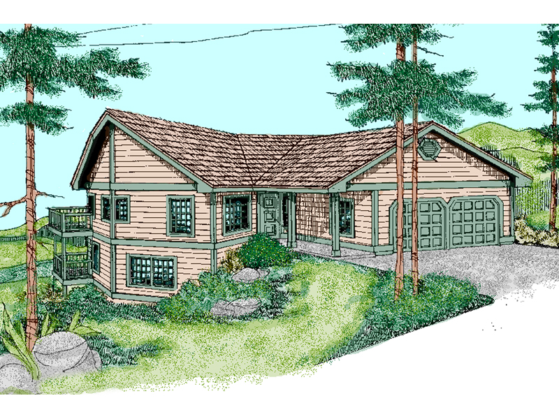 Traditional House Plan Front of Home - 085D-0868 | House Plans and More