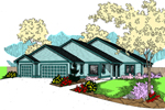 Country House Plan Front of Home - 085D-0870 | House Plans and More