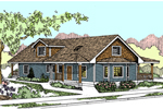 Traditional House Plan Front of Home - 085D-0872 | House Plans and More