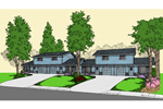 Multi-Family Home Offers Two-Car Garages