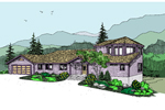 Country House Plan Front of Home - 085D-0885 | House Plans and More
