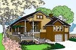 Craftsman Home Enjoys Outdoor Living Space
