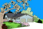 Efficiently Designed Duplex Home