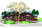 Beautifully Designed Luxury Ranch Home