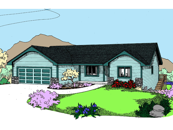Lambert Luxury Ranch Home Plan 085d 0922 House Plans And