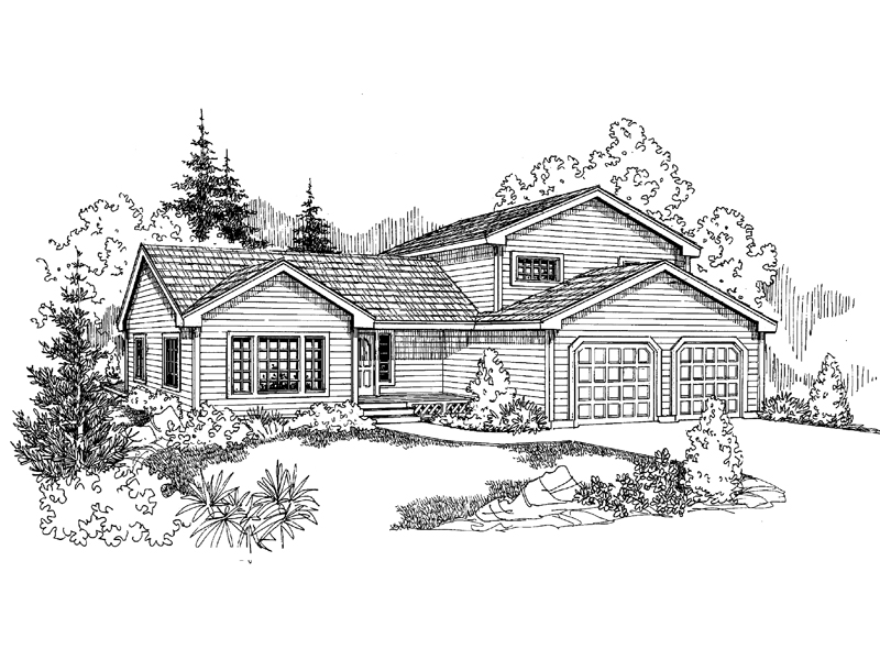Country House Plan Front of Home - 085D-0931 | House Plans and More