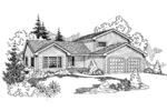 Traditional House Plan Front of Home - 085D-0931 | House Plans and More