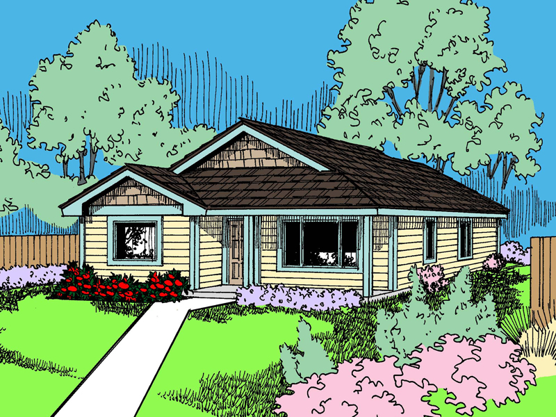 Traditional House Plan Front of Home - 085D-0935 | House Plans and More