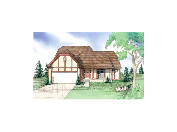Camilla Manor Tudor Cottage Home Plan 086D 0014 House