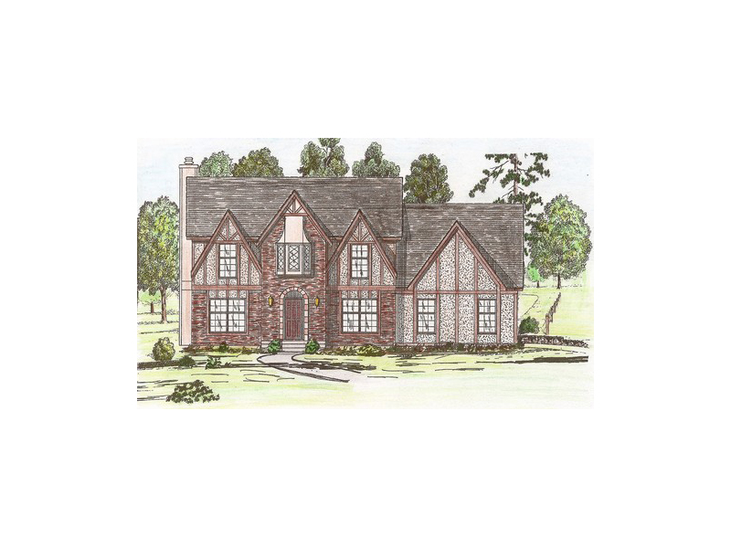 Winburne English Tudor Home Plan 086D 0108 House Plans and More