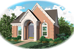 Neoclassical Home Plan Front of Home - 087D-0009 | House Plans and More