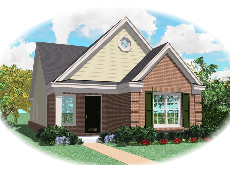 Traditional House Plan Front of Home - 087D-0011 | House Plans and More