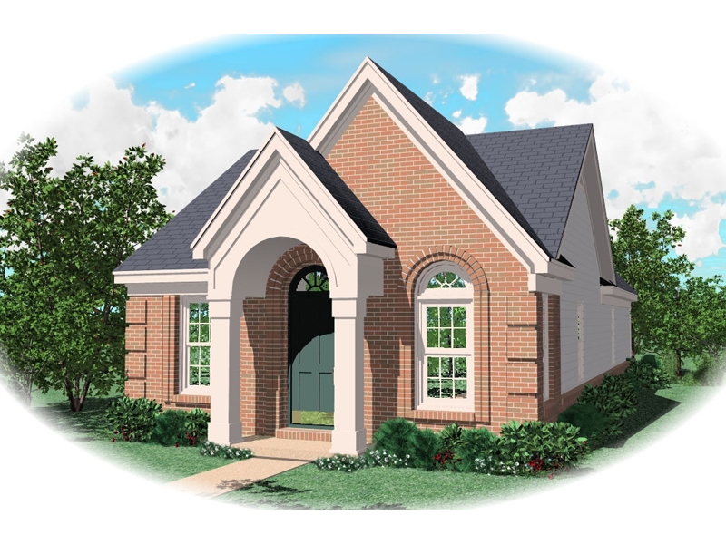 Southern House Plan Front of Home - 087D-0013 | House Plans and More