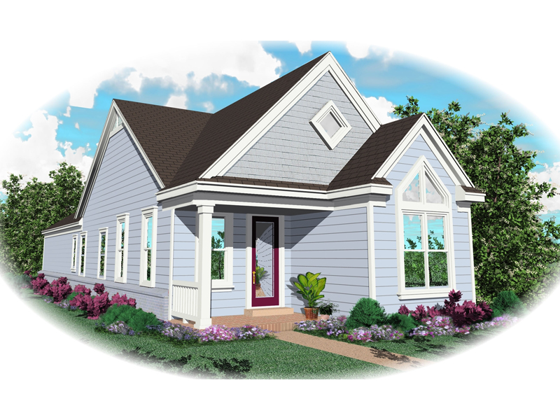 Vacation House Plan Front of Home - 087D-0017 | House Plans and More