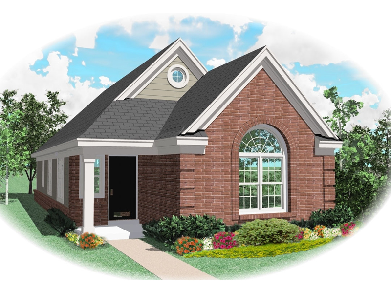 Traditional House Plan Front of Home - 087D-0025 | House Plans and More