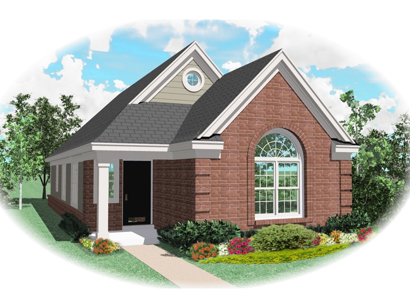 Ranch House Plan Front of Home - 087D-0029 | House Plans and More