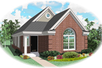 Country House Plan Front of Home - 087D-0029 | House Plans and More