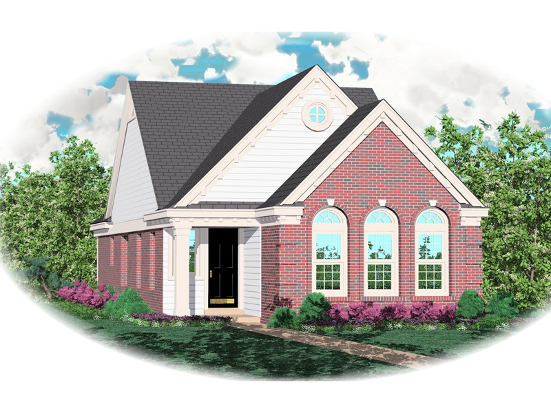 Colonial House Plan Front of Home - 087D-0030 | House Plans and More