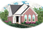 Southern House Plan Front of Home - 087D-0030 | House Plans and More