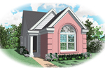 Ranch House Plan Front of Home - 087D-0036 | House Plans and More
