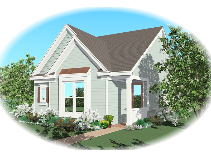 Ranch House Plan Front of Home - 087D-0038 | House Plans and More