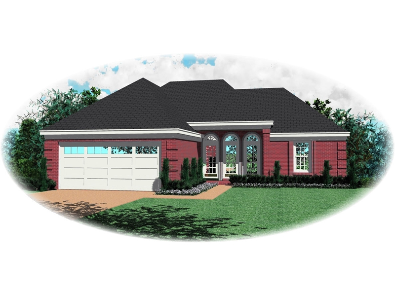 Southern House Plan Front of Home - 087D-0039 | House Plans and More
