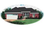 Country House Plan Front of Home - 087D-0039 | House Plans and More