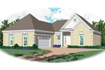 Modern House Plan Front of Home - 087D-0040 | House Plans and More