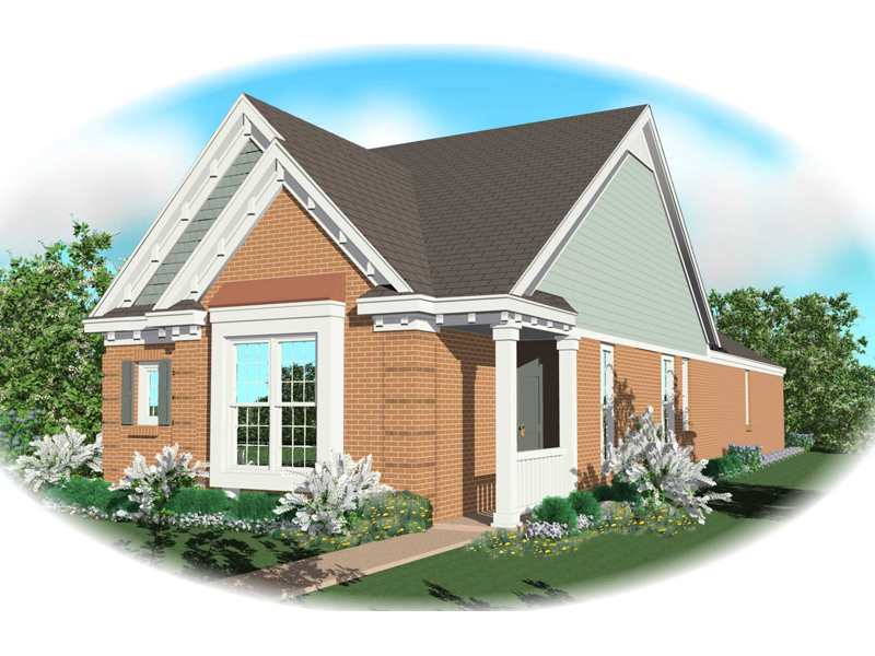 Vacation House Plan Front of Home - 087D-0042 | House Plans and More