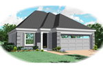 Modern House Plan Front of Home - 087D-0044 | House Plans and More