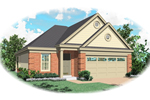 Southern House Plan Front of Home - 087D-0049 | House Plans and More