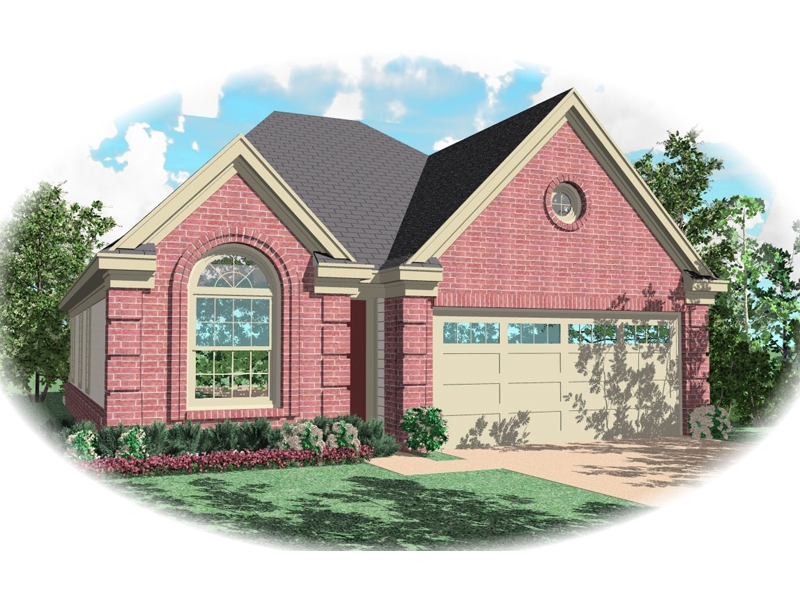 Traditional House Plan Front of Home - 087D-0063 | House Plans and More