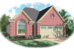 Ranch House Plan Front of Home - 087D-0063 | House Plans and More
